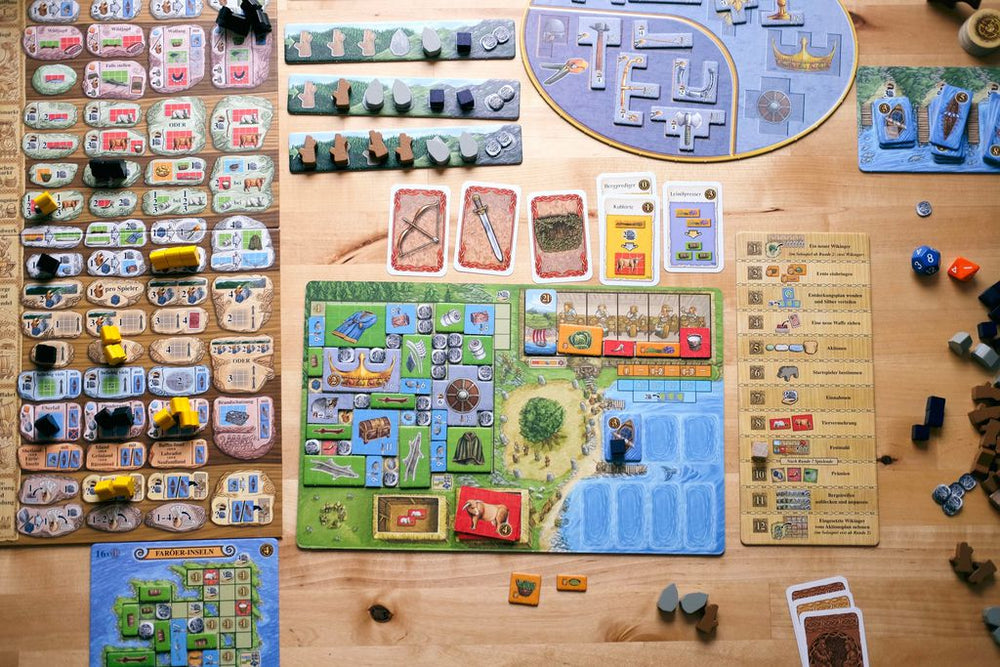 A Feast for Odin - Board Games Master Australia | KIds | Familiy | Adults | Party | Online | Strategy Games | New Release