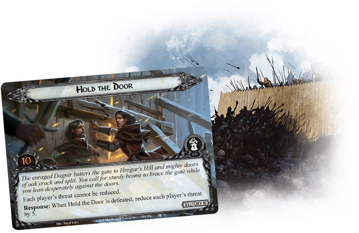 The Lord of the Rings The Card Game – Fire in the Night
