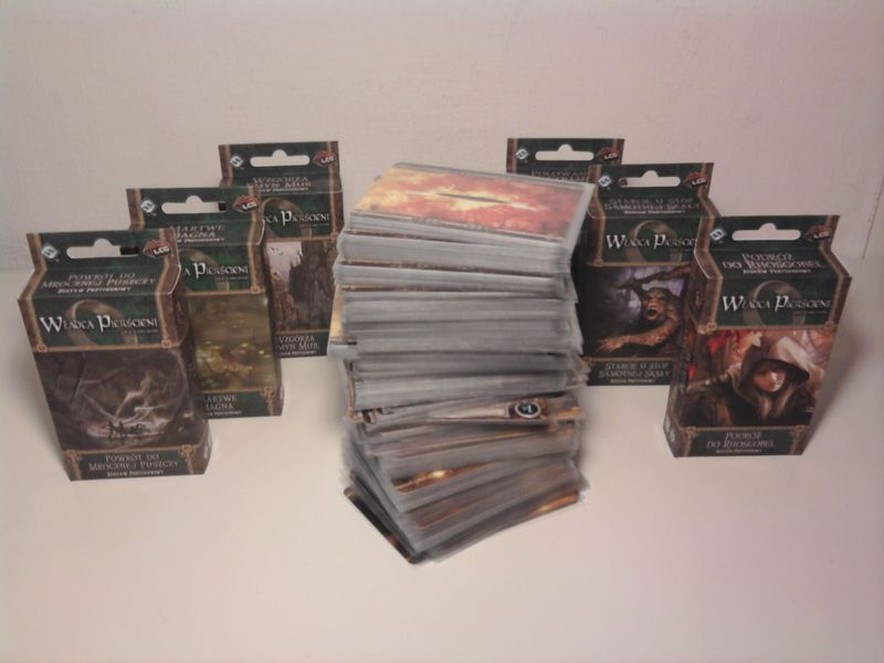 The Lord of the Rings The Card Game – Conflict at the Carrock