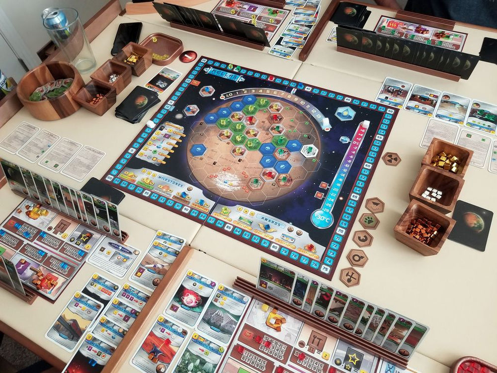 Terraforming Mars Hellas & Elysium - Board Games Master Australia | KIds | Familiy | Adults | Party | Online | Strategy Games | New Release