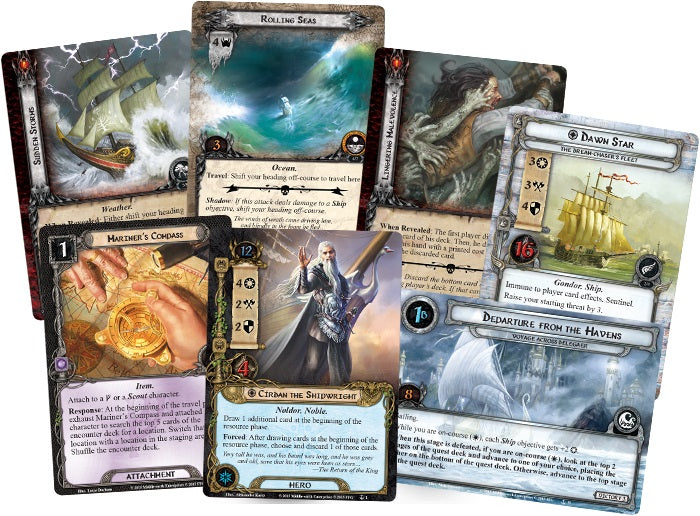 The Lord of the Rings The Card Game The Grey Havens