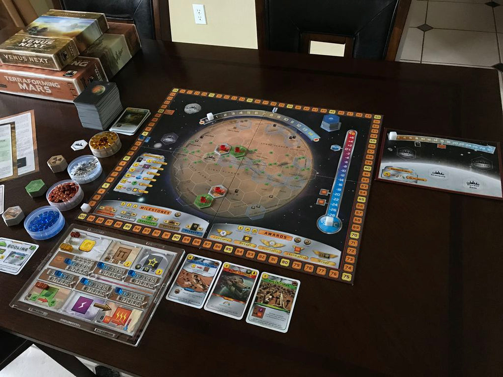 Terraforming mars Venus Next - Board Games Master Australia | KIds | Familiy | Adults | Party | Online | Strategy Games | New Release