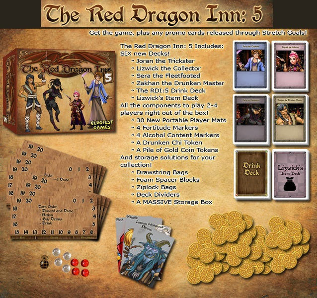 【Pre-Order】Red Dragon Inn 5 the Character Trove