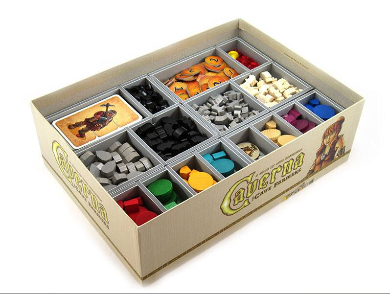Folded Space Game Inserts - Caverna