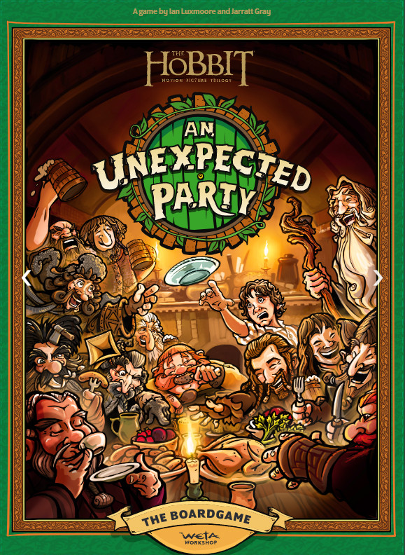【Pre-Order】The Hobbit an Unexpected Party