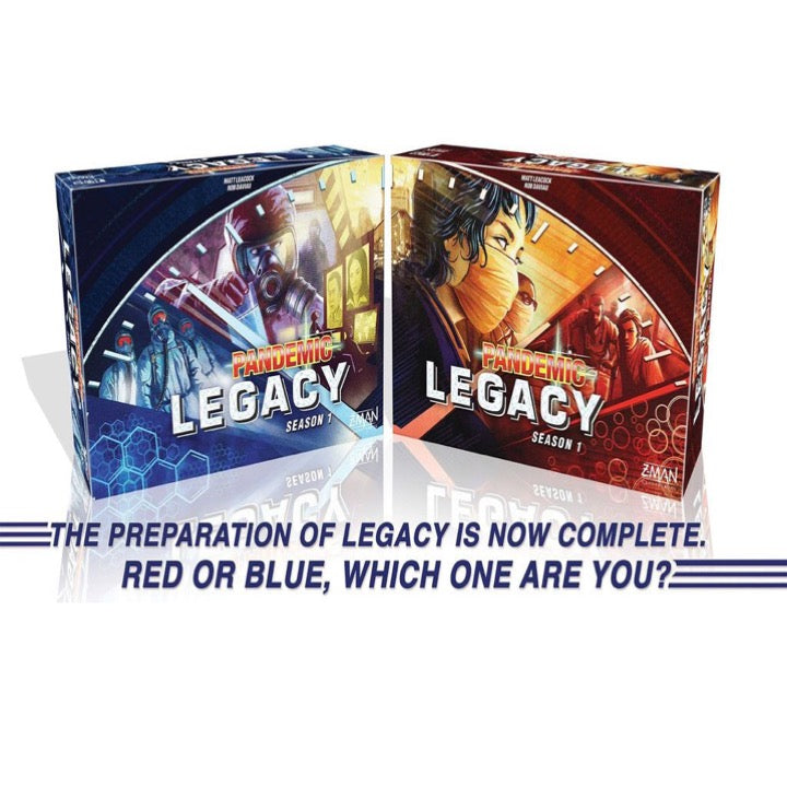 Pandemic Legacy Season 1 (Red Edition)