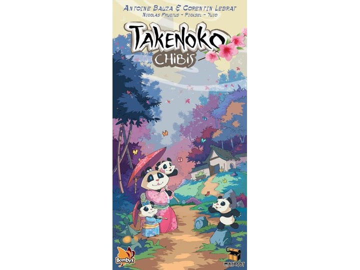 Takenoko Chibis - Board Games Master Australia | KIds | Familiy | Adults | Party | Online | Strategy Games | New Release