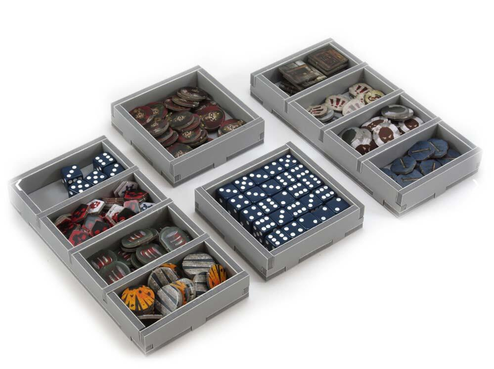 Folded Space Game Inserts - Dead of Winter and The Long Night