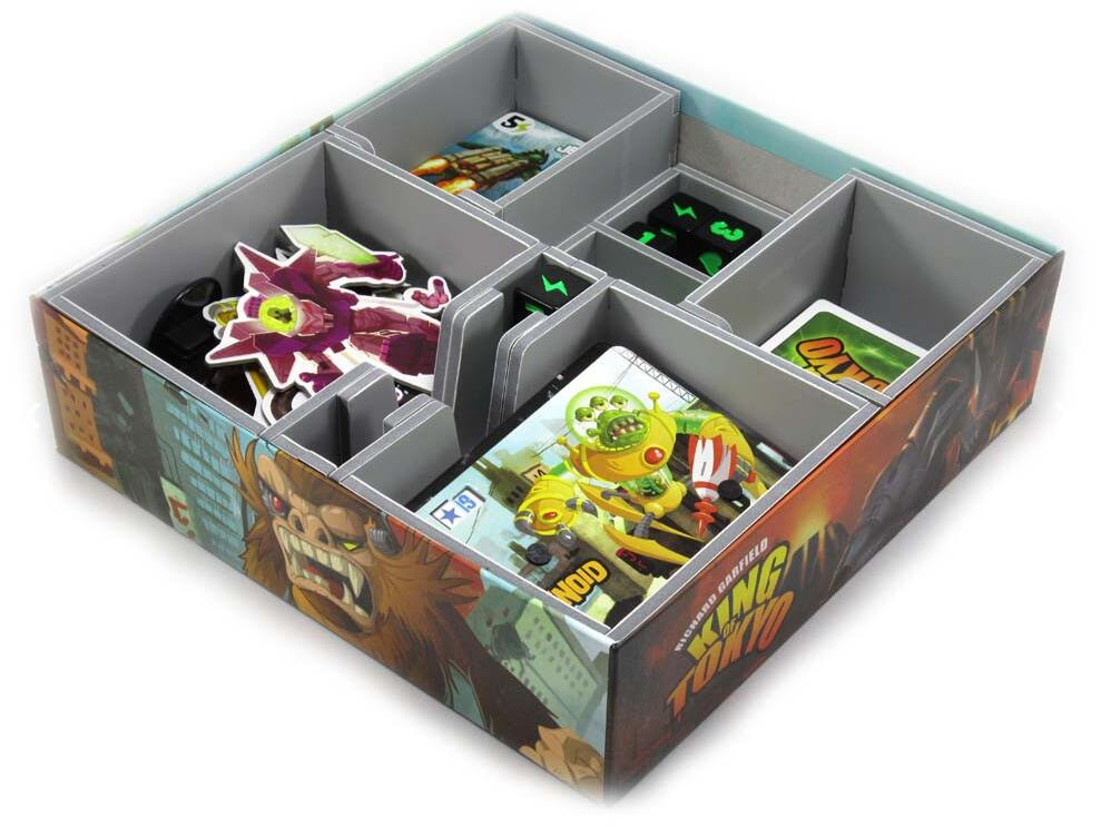 【Pre-Order】Folded Space Game Inserts - King of Tokyo