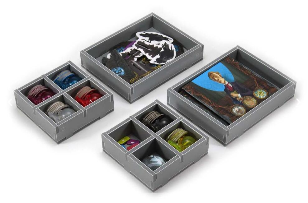 Folded Space Game Inserts - Mysterium
