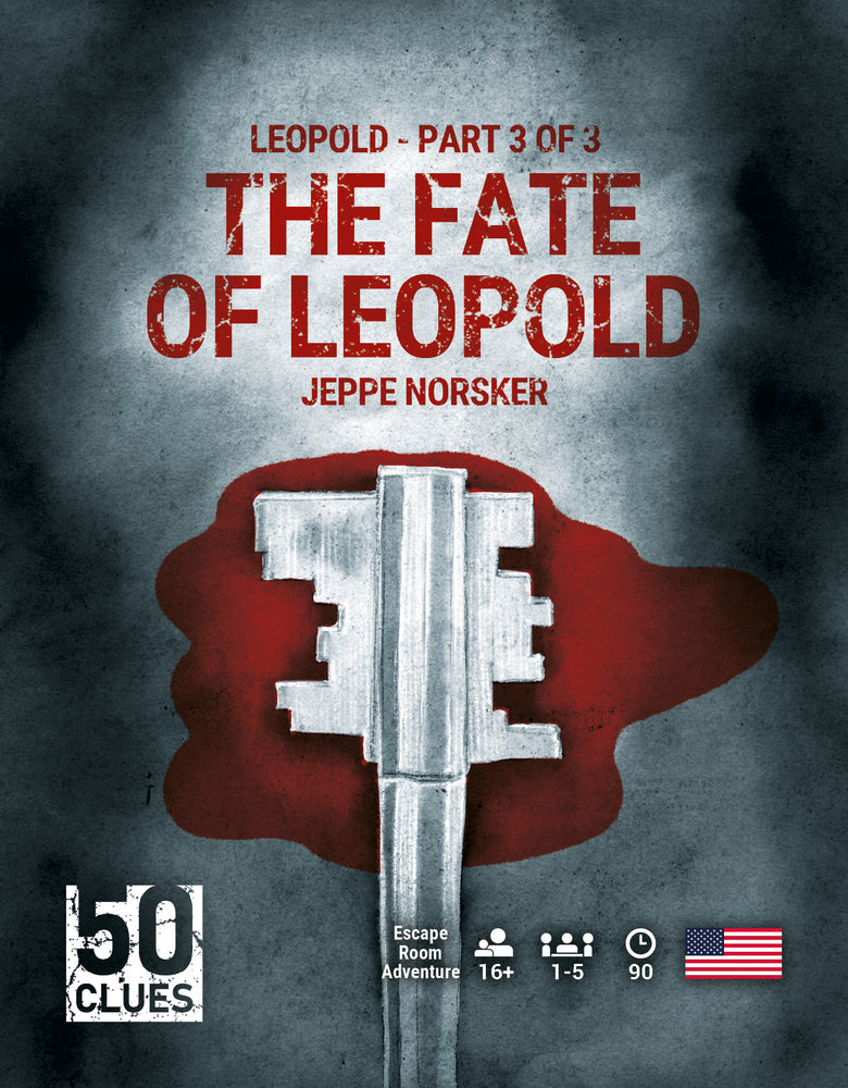 【Pre-Order】50 Clues - The Fate of Leopold - Leopold Part 3