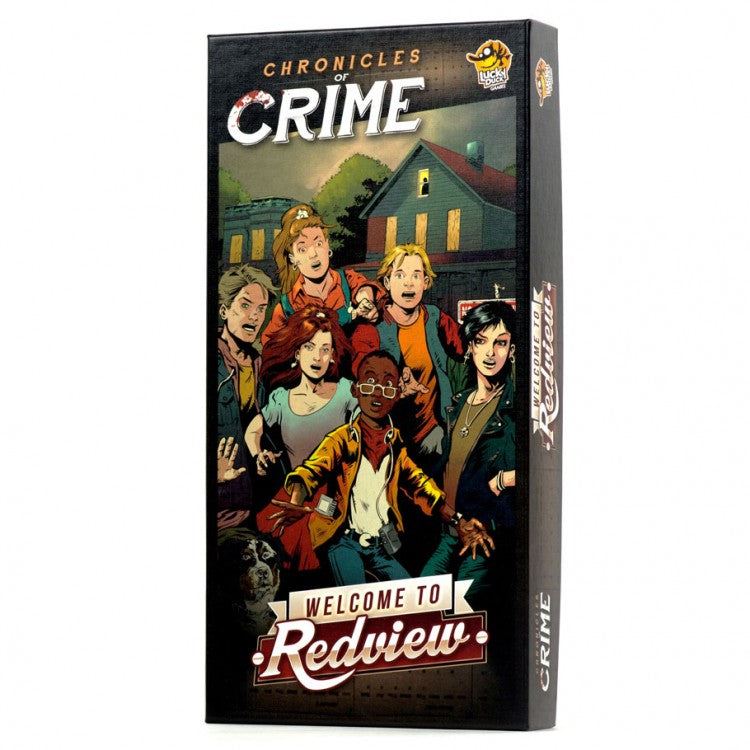 Chronicles of Crime Welcome to Redview Expanion