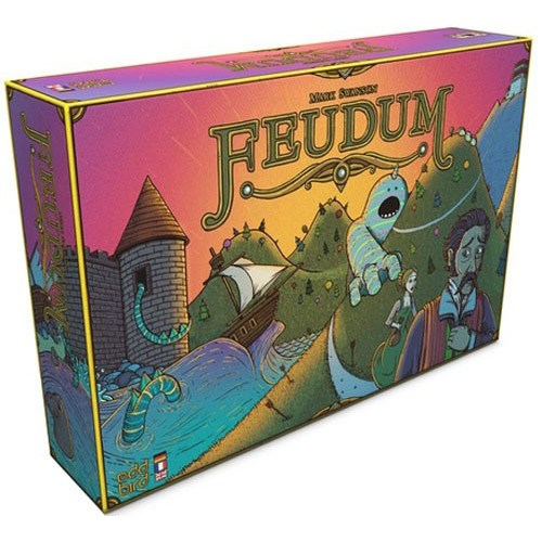 Feudum - Board Games Master Australia | KIds | Familiy | Adults | Party | Online | Strategy Games | New Release
