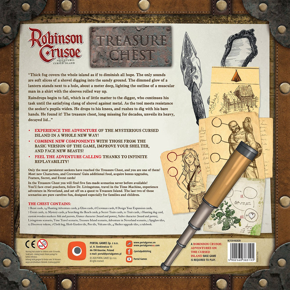 【Pre-Order】Robinson Crusoe Treasure Chest Expansion