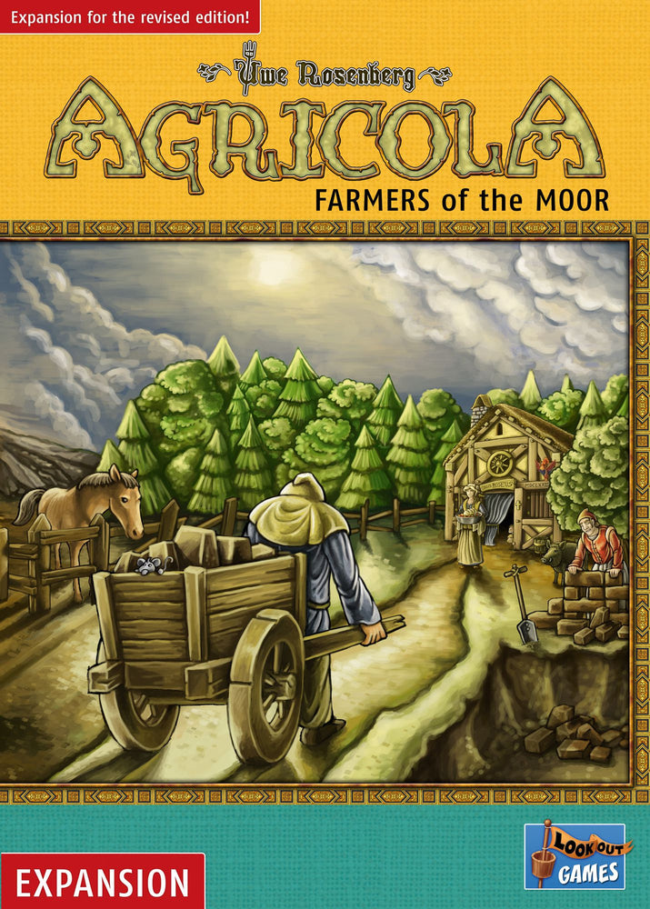 【Place-On-Order】Agricola Farmers of the Moor Revised Edition