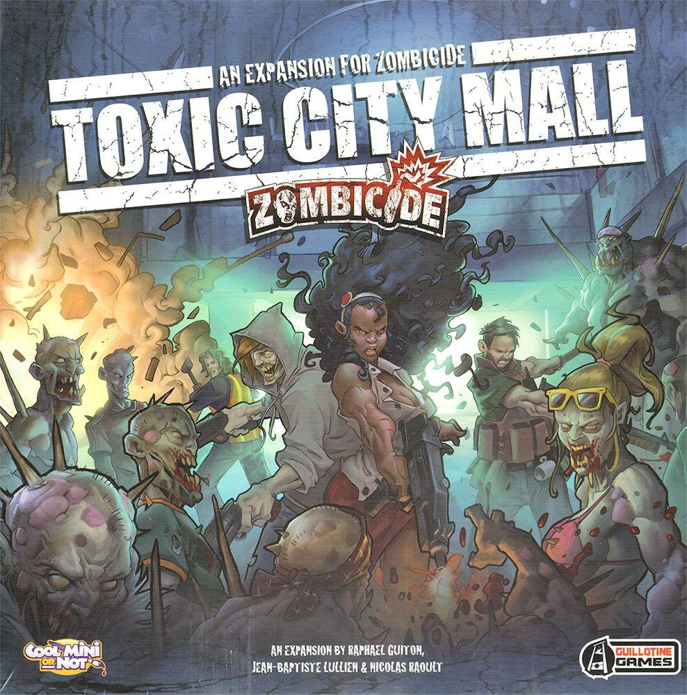 Zombicide Toxic City Mall - Board Games Master Australia | KIds | Familiy | Adults | Party | Online | Strategy Games | New Release