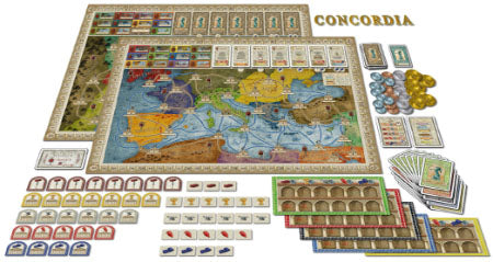 Concordia - Board Games Master Australia | KIds | Familiy | Adults | Party | Online | Strategy Games | New Release