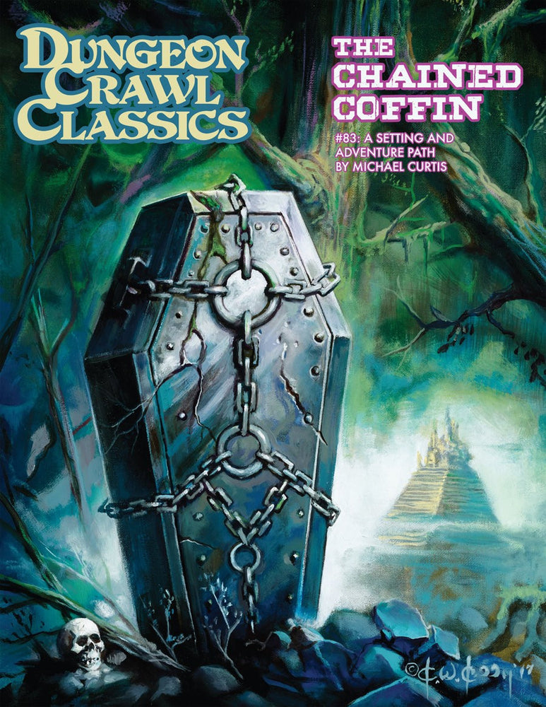 Dungeon Crawl Classics RPG #83 - The Chained Coffin Supplement Hardback