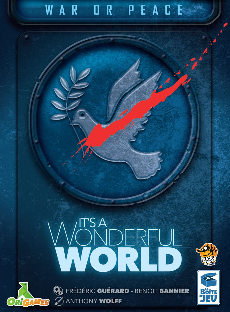 【Pre-Order】It's a Wonderful World - War or Peace Expansion