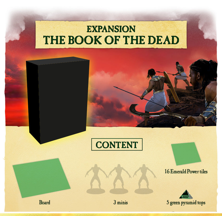 Kemet Blood and Sand - Book of the Dead expansion