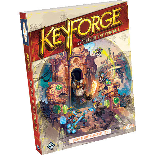 【Pre-Order】Keyforge Genesys - Secrets of the Crucible