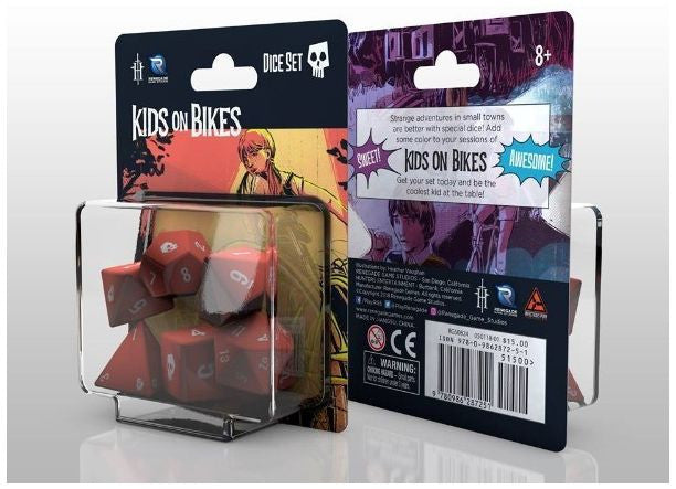 Kids on Bikes Role Playing Game - Dice Set
