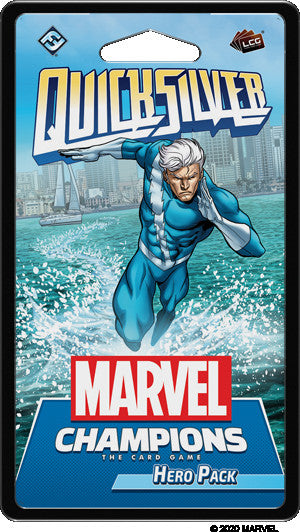 【Pre-Order】Marvel Champions LCG - Quicksilver Hero Pack