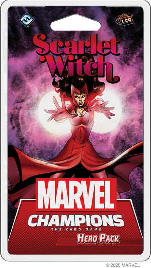 【Pre-Order】Marvel Champions LCG - Scarlet Witch Hero Pack