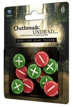 Outbreak Undead 2nd Edition RPG Survivor Game Tokens