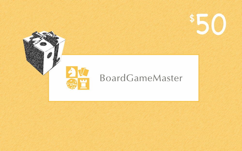 Gift Card - Board Games Master Australia | KIds | Familiy | Adults | Party | Online | Strategy Games | New Release