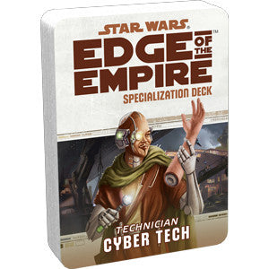 Star Wars Edge of the Empire Cyber Tech Specialization Deck
