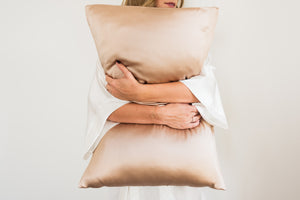 PILLOWCASES - ANTIQUE PINK