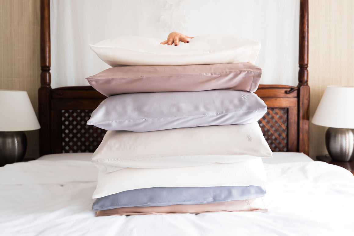 PILLOWCASES - SLATE GREY