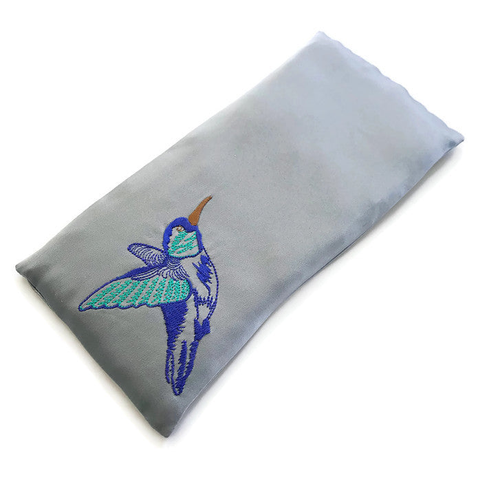 LAVENDER EYE PILLOWS - HUMMINGBIRD