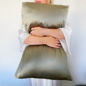 PILLOWCASES - SAGE GREEN