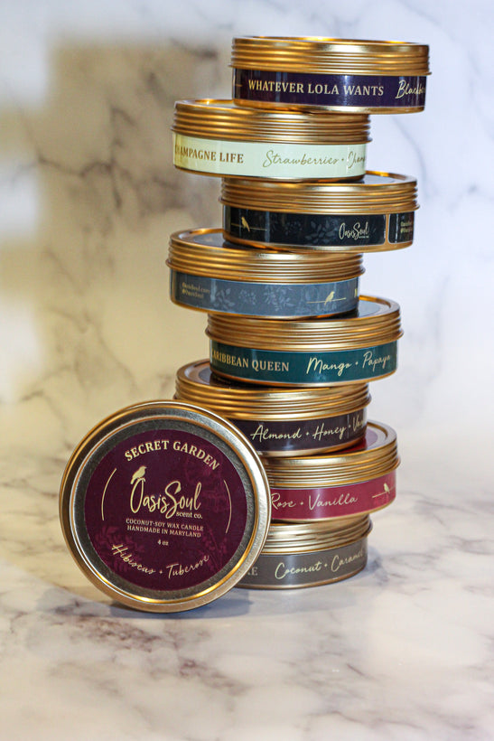 Gold Traveler Candles