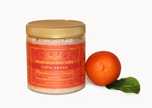 COPACABANA - Sugar Cream Body Scrub {mandarin + coconut}