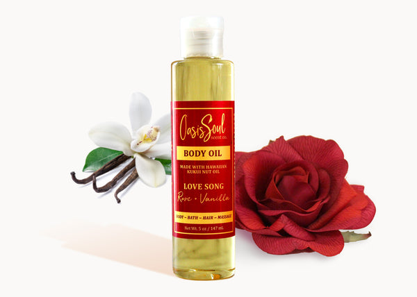 LOVE SONG - Body Oil {rose + vanilla}