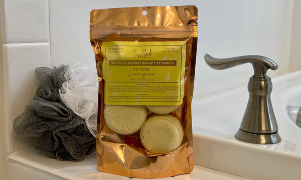 REVIVAL - Shower Aromatherapy Steamers {lemongrass}