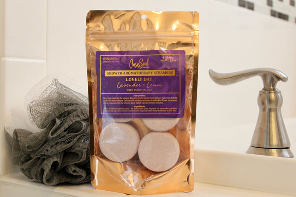 LOVELY DAY - Shower Aromatherapy Steamers {lavender + lemon}