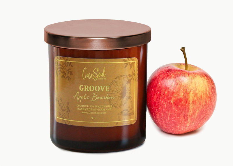 GROOVE - Amber Classics Candle {apple bourbon}