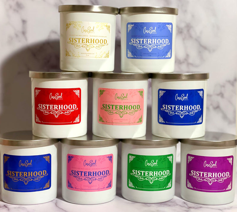 SISTERHOOD Candle Collection