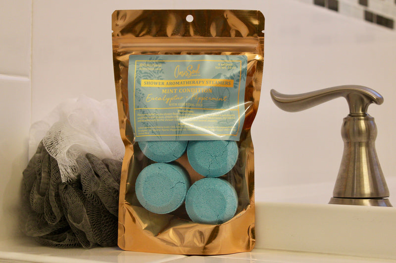 MINT CONDITION - Shower Aromatherapy Steamers {eucalyptus + peppermint}