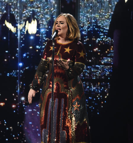 Adele performing at the 2016 Brit Awards - Backgrid