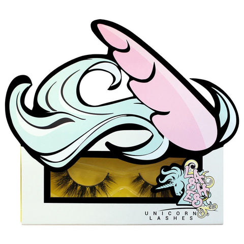unicorn lashes majestic in box