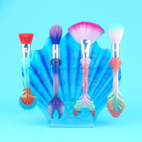 Mermaid Brushes by Unicorn Cosmetics