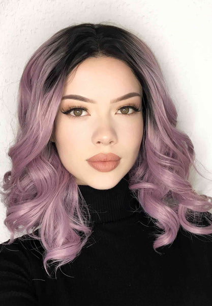 Lavender Locks Lace Front Wig