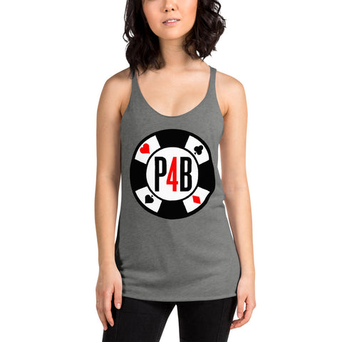 Poker For Breakfast P4B Chip Women's Tank