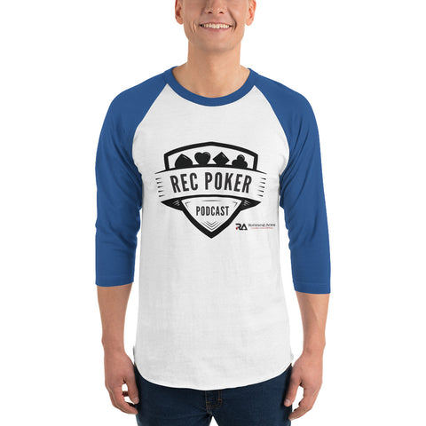 RecPoker Podcast Blue Raglan