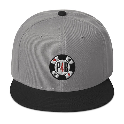 Poker For Breakfast P4B Chip Snapback Hat